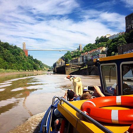 Avon Gorge Boat Trips Bristol Ferry